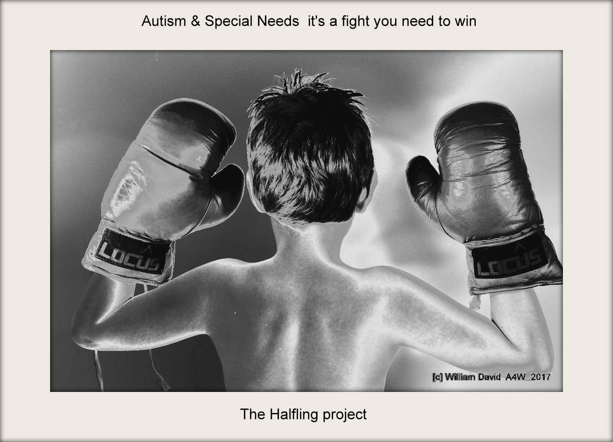 Autism - The fight you have to win - The halfling project